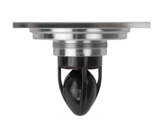 Трап для душа (сливной) MAGdrain CC03Q50-N (100*100*4 мм, никель матовый, латунь)